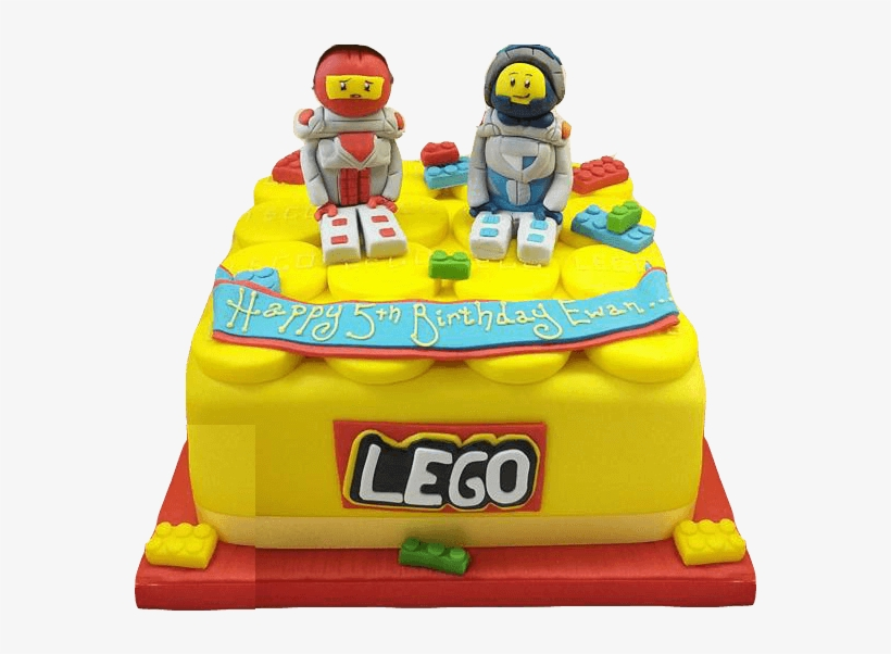 Lego Cake Png Graphic Library Library - Lego Birthday Cake Transparent Png, transparent png #2512764