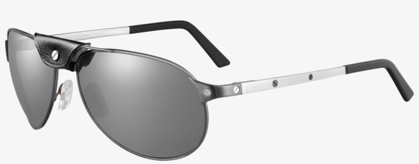 Men Sunglasses - Cartier Sunglasses Men Blue, transparent png #2517995