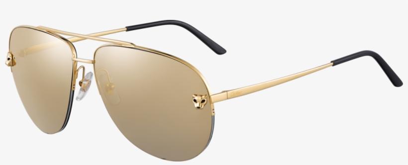 7ce90402210 Panthère De Cartier Sunglassesmetal