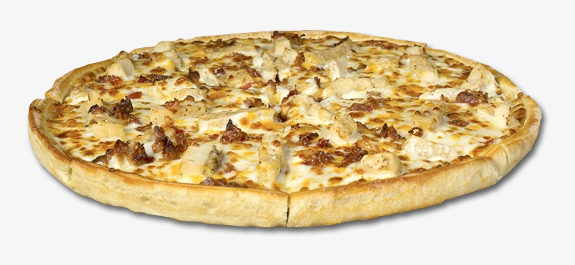 Bacon Ranch Creamy Ranch Dressing, Seasoned Chicken - Chicken Bacon Ranch Pizza Png, transparent png #2518755