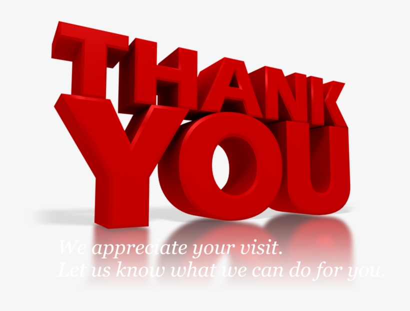 Thank You For Your Ecza Solinf Co - Thank You Clip Art, transparent png #2520113