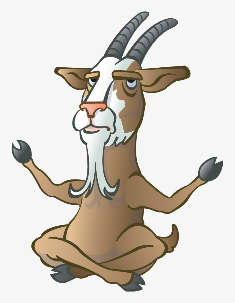 Billy Goat Cartoon Cartoon Billy Goat Free Transparent Png Download Pngkey