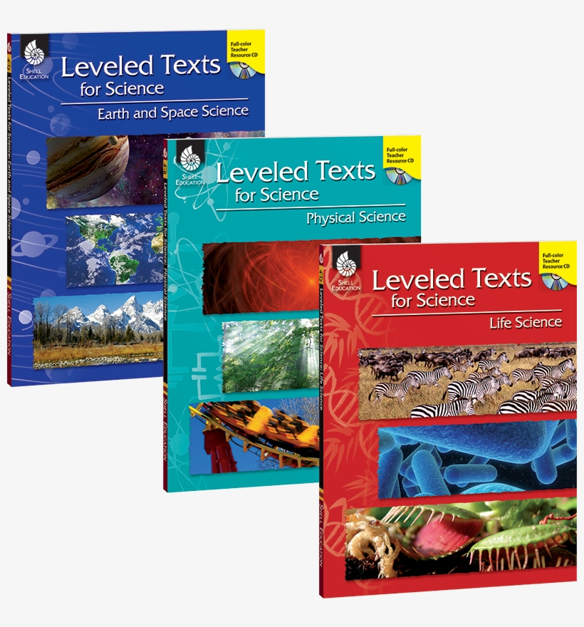 View Larger - Leveled Texts For Science: Life Science, transparent png #2522899