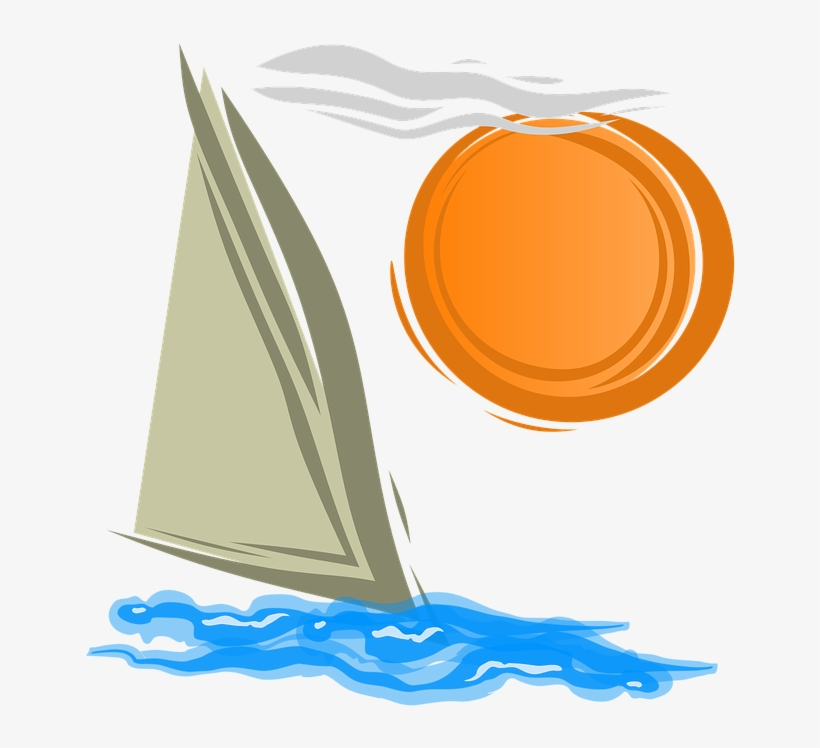 Sailing, Summer, Sea, Yacht, Ocean, Boat, Sail, Ship - Sailing Ship, transparent png #2525746