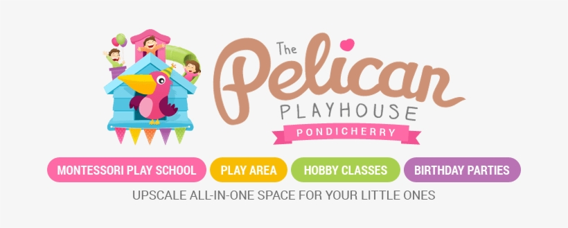 The Pelican Playhouse - Pelican Play School Pondicherry, transparent png #2527341