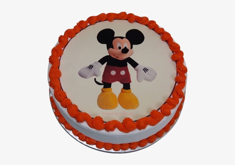 Mickey Mouse Cake For The Kids Birthday Birthday Cake Mickey Mouse