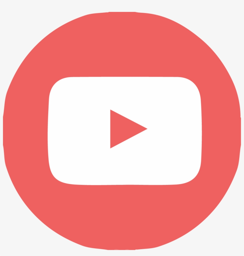 Twitter Facebook Rss Youtube - Youtube Flat Icon Png, transparent png #2528509