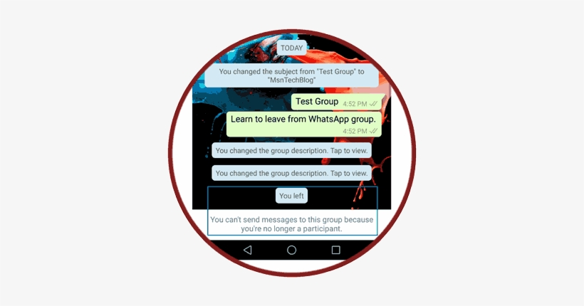 Whatsapp Group Chat Tricks - Whatsapp - Free Transparent PNG