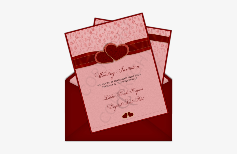 Letter Style Email Indian Wedding Invitation Design Simple Indian
