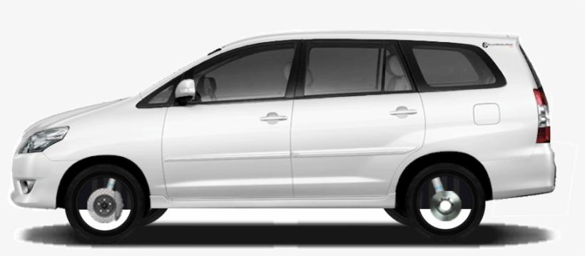 Alloy Wheels For Toyota Innova - Toyota Innova White Png, transparent png #2531802
