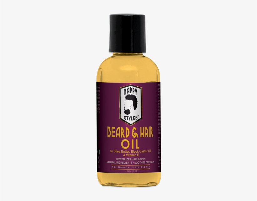 Nappy Styles Original Beard & Hair Oil - Nappy Styles Beard & Hair Oil 4 Oz, transparent png #2532420