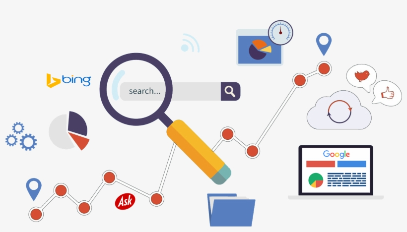 Seo Company In Delhi For The Best Online Ranking, Traffic - Search Engine Optimization Seo, transparent png #2532989
