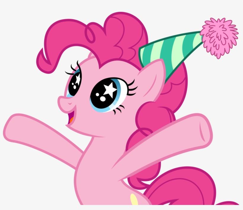Pinkie Pie Wearing Birthday Cap - My Little Pony Happy Birthday Pinkie Pie, transparent png #2533676