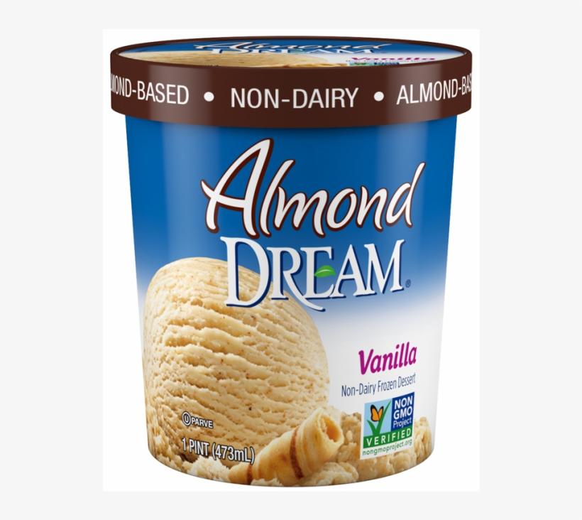 Almond Dream™ Vanilla - Almond Dream Ice Cream Mint, transparent png #2535999