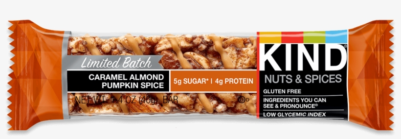 Caramel Almond Pumpkin Spice - Kind Caramel Almond Pumpkin Spice Bar, transparent png #2536294