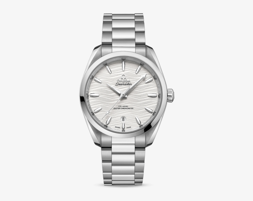 Ladies Omega Seamaster Aqua Terra 38mm Opaline Dial - Rolex Datejust 41 Bianco, transparent png #2540590