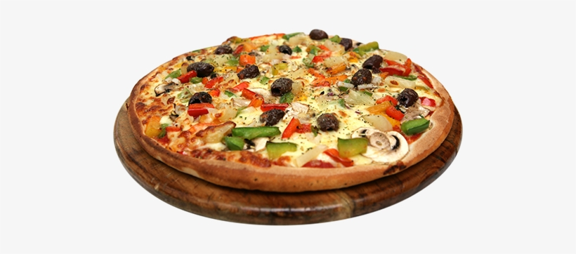 Vegetarian Pizza - California-style Pizza, transparent png #2542182