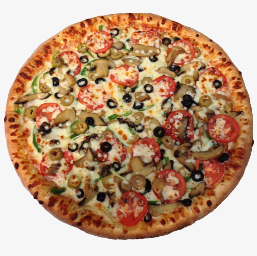 Top Quality's Veggie Special - California-style Pizza, transparent png #2542412