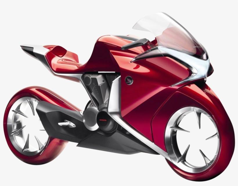 Honda V4 Concept Motorcycle Bike Png Image - World Top 1 Bikes, transparent png #2542619