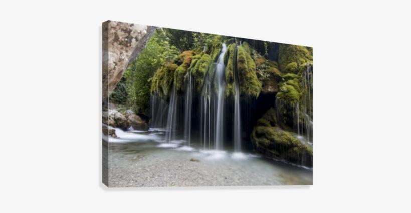 Capelli Di Venere Waterfalls Canvas Print - Cascate Di Salerno, transparent png #2543697