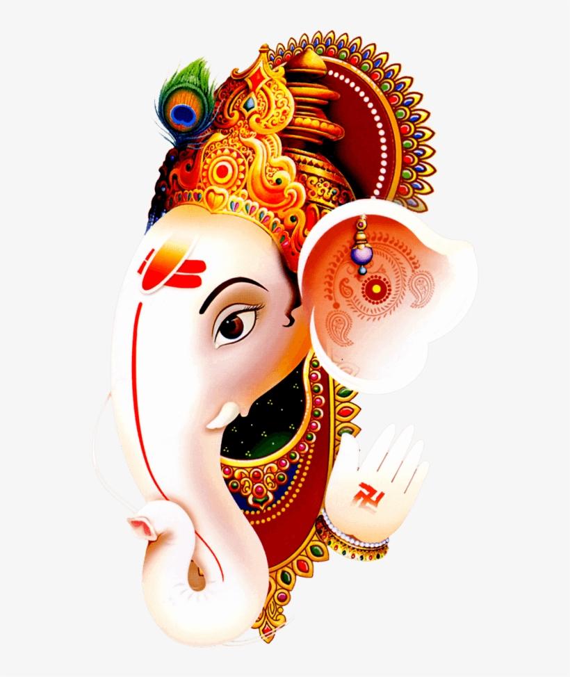 Ganesh-ji - Happy Ganesh Chaturthi White Hd, transparent png #2544480