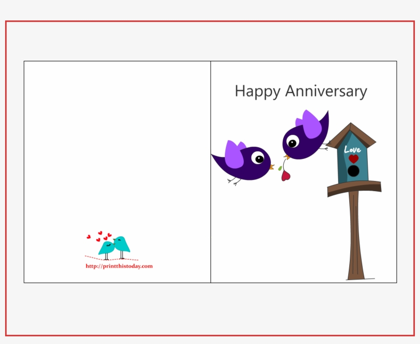 Happy Wedding Anniversary Card Template Fresh Luxury Free