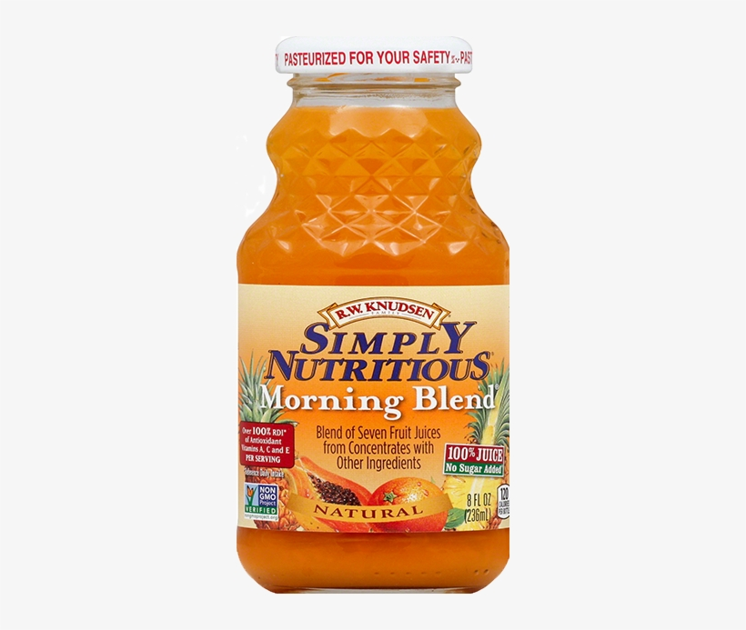 Morning Blend® - Rw Knudsen Simply Nutritious Juice Morning Blend, transparent png #2548785
