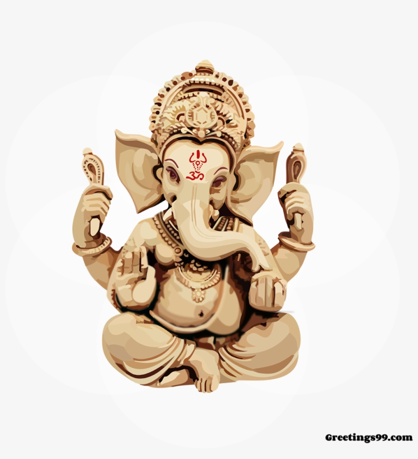 Ganpati Bappa Images Hd Happy Ganesh Chaturthi Gif Free Transparent Png Download Pngkey