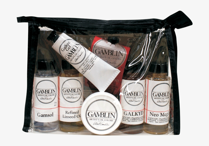 Gamblin Mediums Set - Gamblin : Oil Painting Medium Set, transparent png #2551067