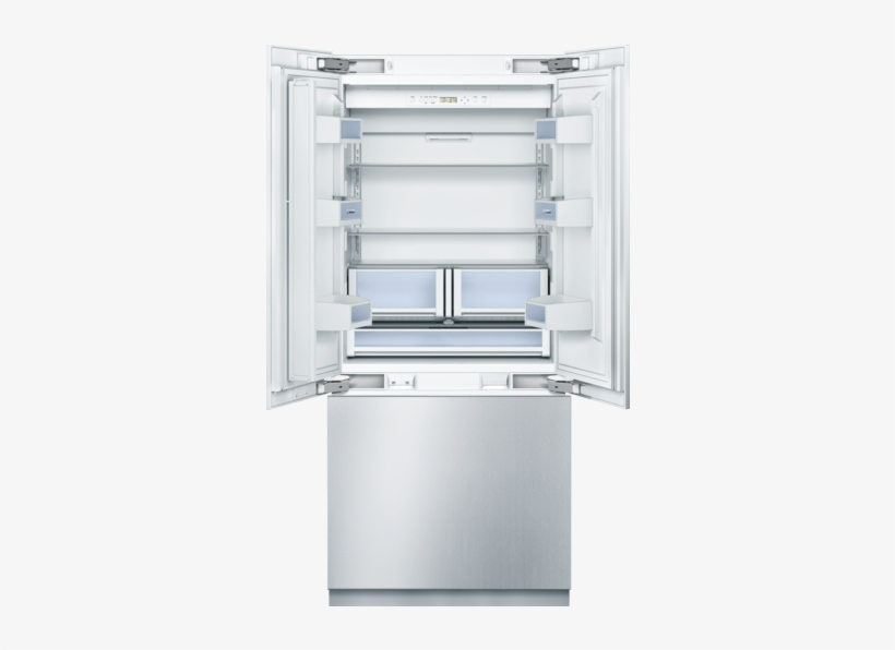 "36"" Built-in French Door Refrigerator, B36it800np, - Bosch B36bt830ns, transparent png #2554319"