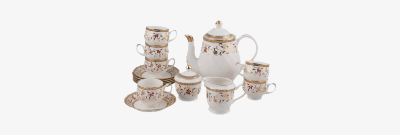 Our Products - Tea Set, transparent png #2555457
