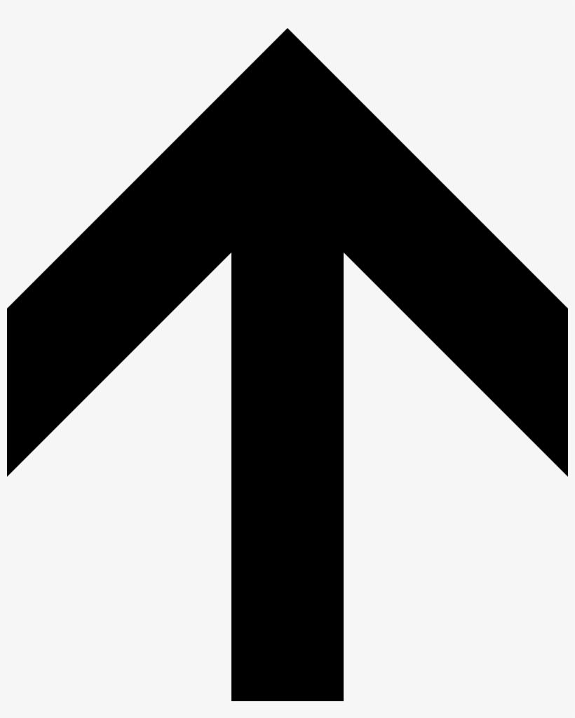 Arrow Svg Home - Up Arrow, transparent png #2558096