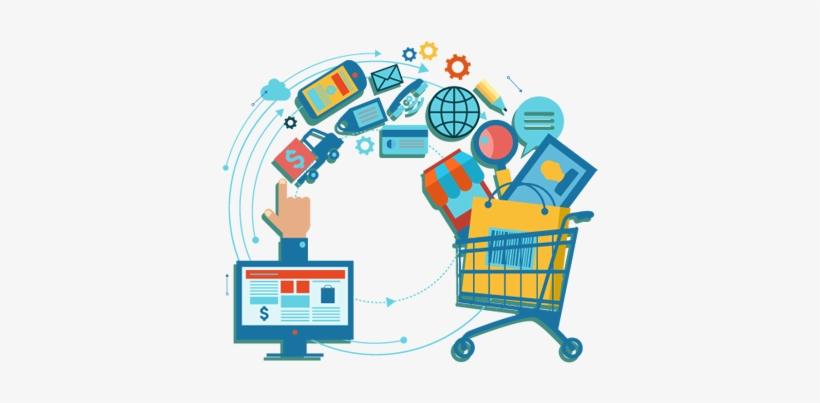 Ecommerce Design And Development Services - E Commerce Clipart Png, transparent png #2559557
