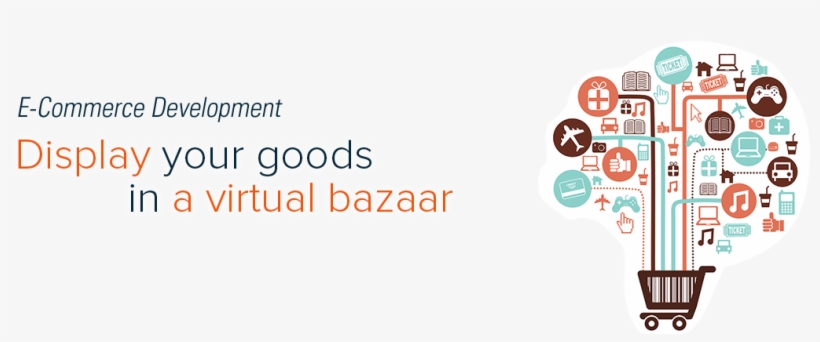 With Our B2c And B2b Ecommerce/ M-commerce Framework, - E-commerce, transparent png #2560058