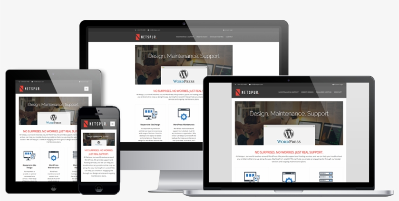 Connecting With Your Audience - Responsive Design Mockups Websites, transparent png #2560783