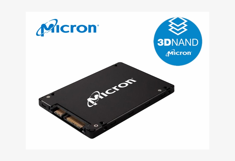 """Img - Micron 1100 2 Tb 2.5"""" Internal Solid State Drive, transparent png #2561904"""