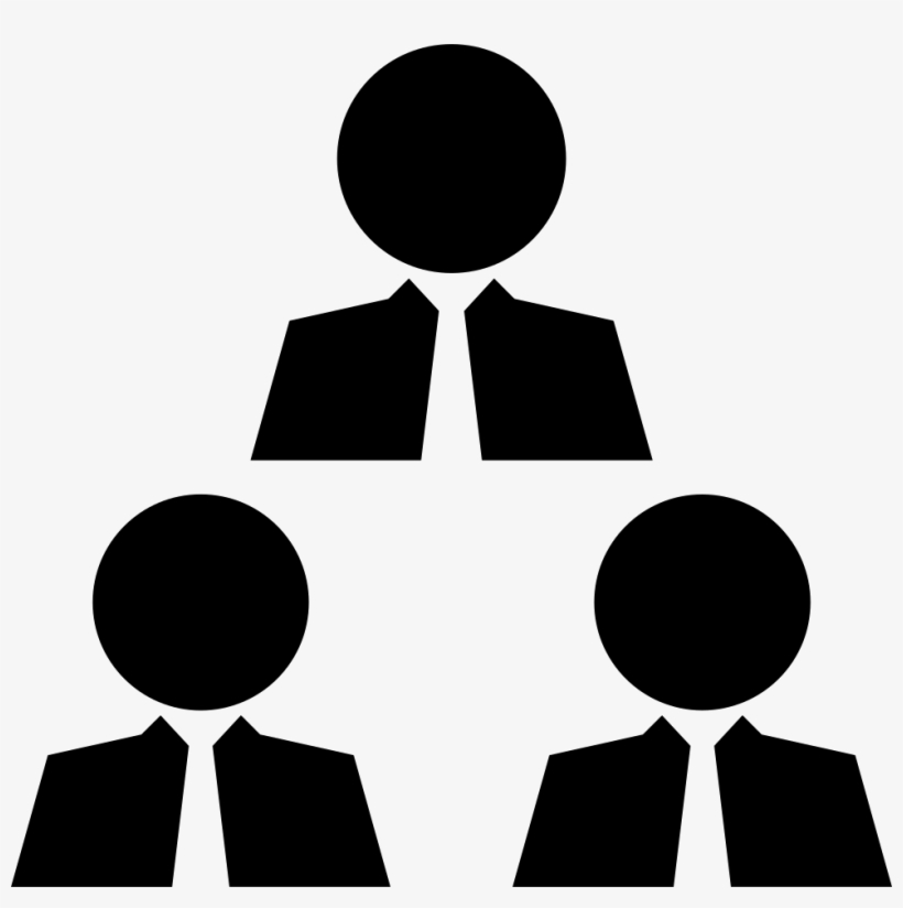Businessmen Meeting - - People Connected Icon Png, transparent png #2562141