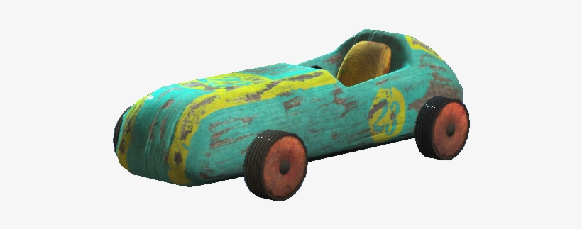 Fo4 Toy Car - Fallout 4 Race Car, transparent png #2563789
