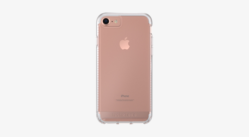 Back - Tech21 Impact Clear Case For Apple Iphone 7 -, transparent png #2564176