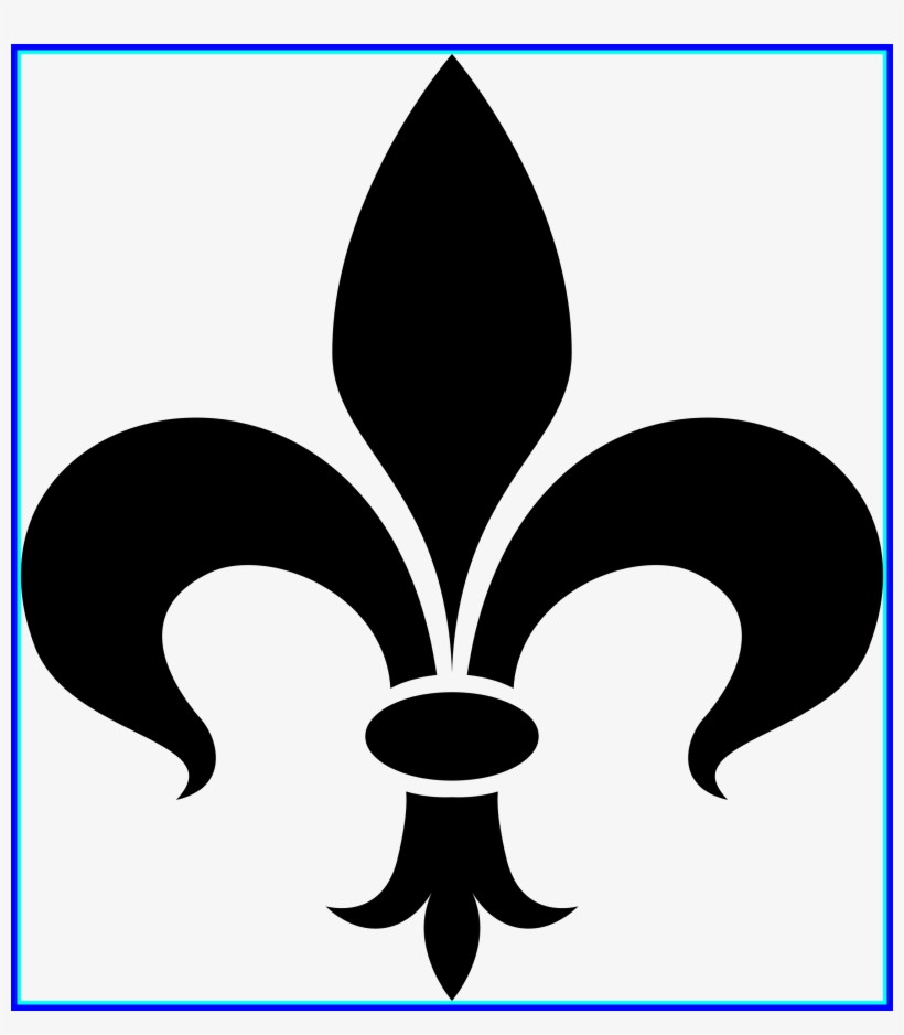 Shocking Fleur De Lis Clipart Card Ideas Pic Of Lotus - Fleur De Lis Clip Art, transparent png #2566477