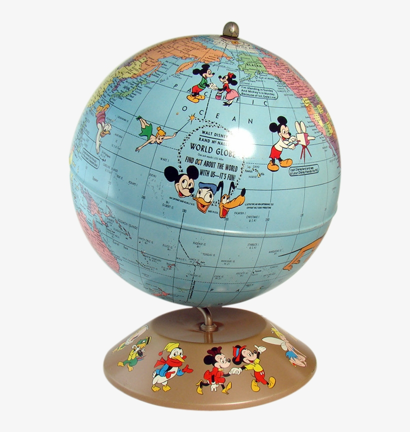 Enlarge - Disney World Globe Png, transparent png #2566523