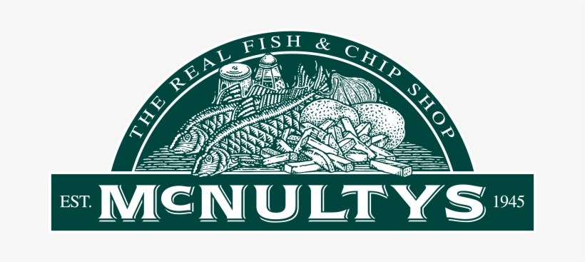 The Mcnulty's Name Has Been Synonymous With Quality - Fish And Chip Shop Logo, transparent png #2567728