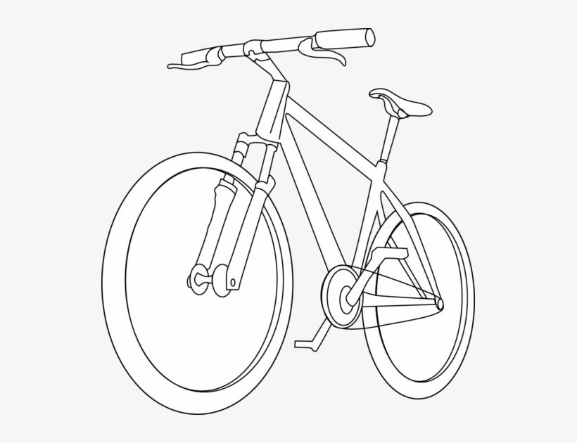 Bicycle Clipart Outline Imagenes De Bicicleta Para Colorear Free