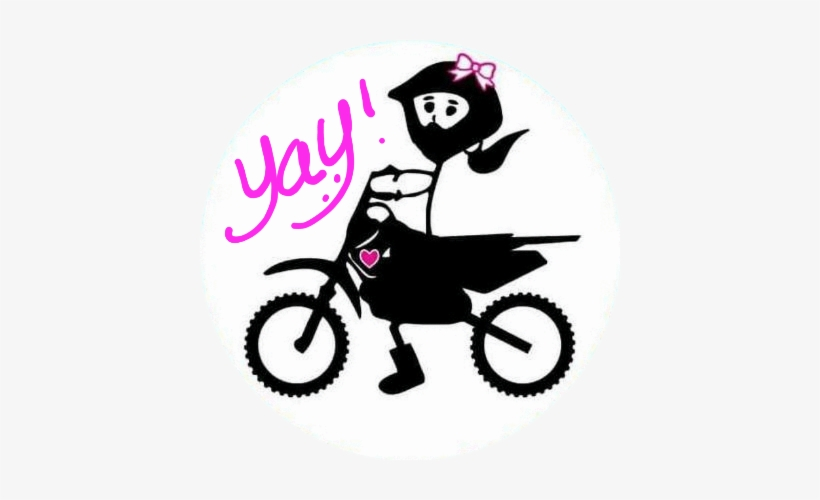 First Let Me Welcome You To The Club You're Already - Dirt Bike Girl Adventures, transparent png #2571885