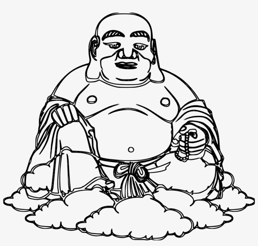 Buddha Black And White Drawing At Getdrawings Imagen De Buda