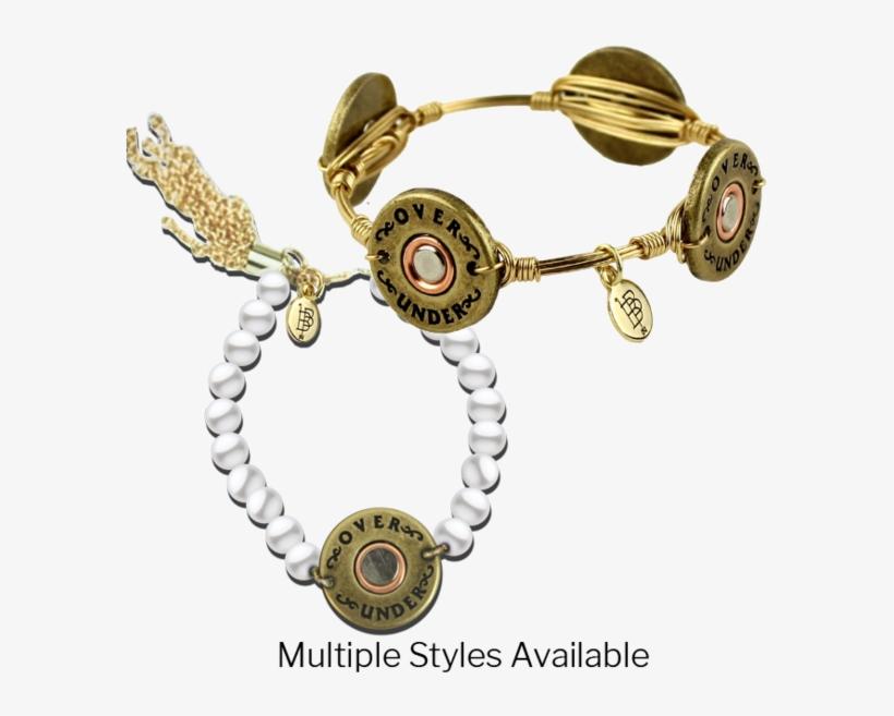 Bourbon & Boweties Bangle - Over Under Bracelet, transparent png #2572383