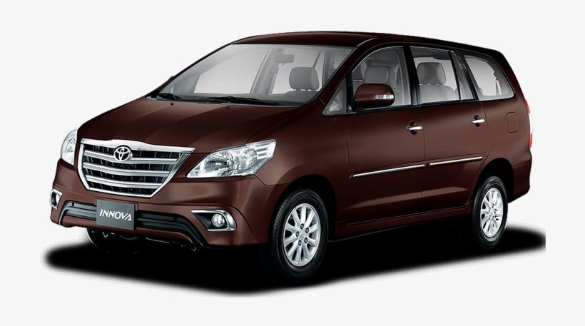 Innova V - Toyota Innova Car Red, transparent png #2575665