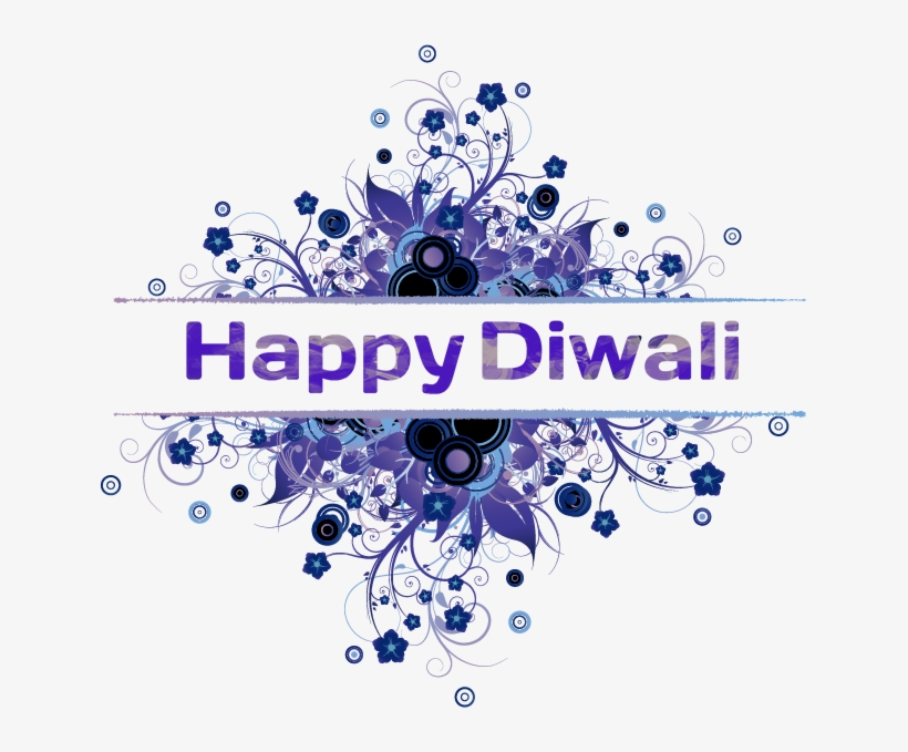 Happy Diwali Png Transparent Image - Thank You! : Flowers Picture Card, transparent png #2576436