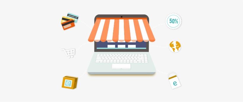 Ecommerce Web Design - Site Web E Commerce, transparent png #2578883