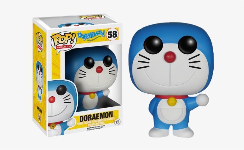 Doraemon Pop Vinyl - Doraemon Pop! Vinyl Figure, transparent png #2581046